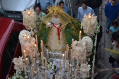 Virgin venerated during the procession