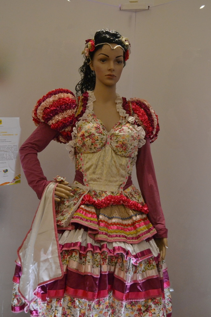Brazilian costume at Parque das Naçoes in Lisbon