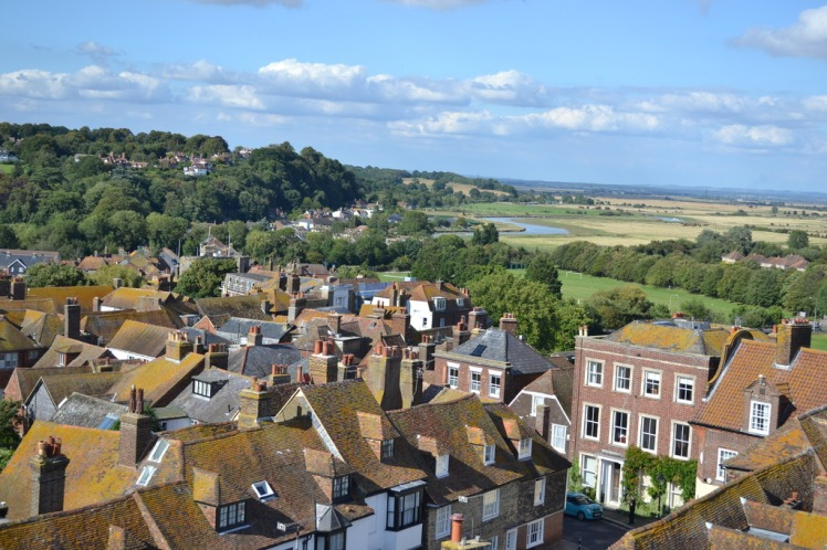 vie from Rye bell tower