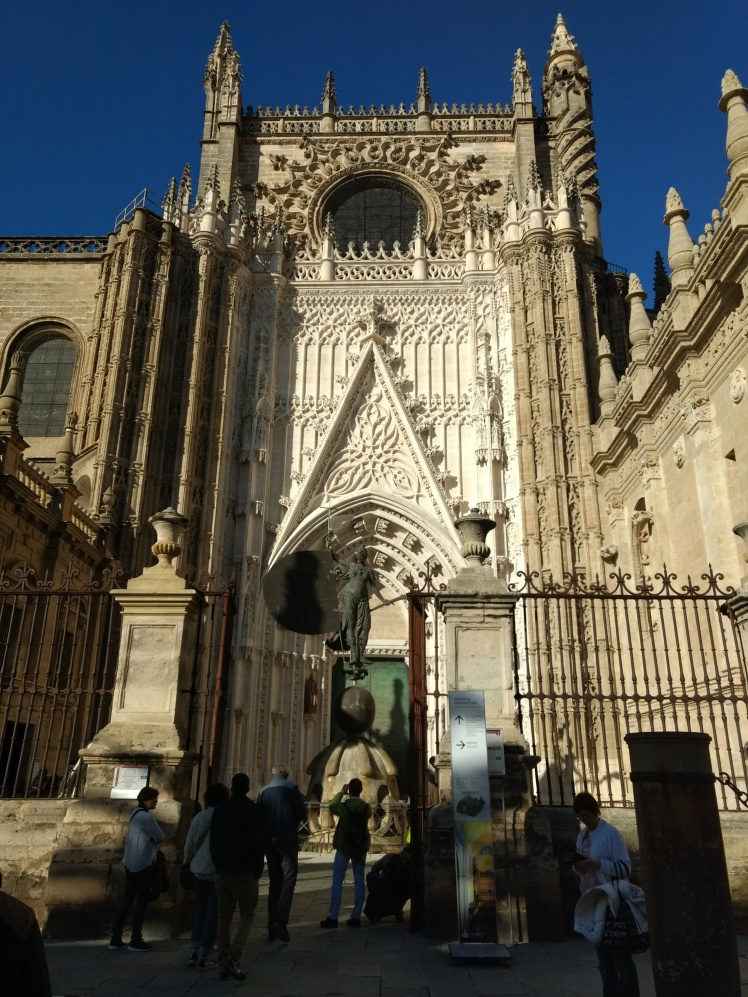 Seville cathedral entrance. Photo by The Spanish Berry