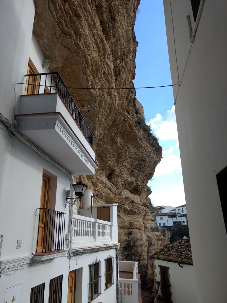 A street in Setenil de la Bodegas
